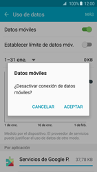 Samsung Galaxy S6 - Internet - Activar o desactivar la conexión de datos - Paso 6