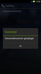 Acer Liquid E3 - Voicemail - Handmatig instellen - Stap 10