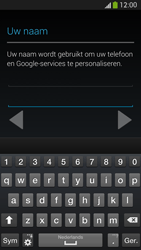 Samsung I9505 Galaxy S IV LTE - Applicaties - Account aanmaken - Stap 6