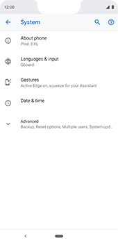 Google Pixel 3XL - Device - Factory reset - Step 7