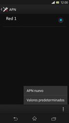Sony Xperia Z - Internet - Configurar Internet - Paso 10