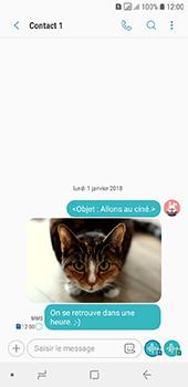 Samsung Galaxy A6 - MMS - envoi d'images - Étape 20