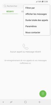 Samsung Galaxy S9 Plus - Messagerie vocale - Configuration manuelle - Étape 5