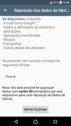 Sony Xperia XZ - Android Nougat - Repor definições - Repor definições de fábrica do telemóvel -  7