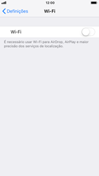 Apple iPhone 8 - iOS 12 - Wi-Fi - Como ligar a uma rede Wi-Fi -  4