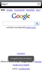 HTC A8181 Desire - Internet - navigation sur Internet - Étape 7