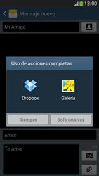 Samsung Galaxy S4 Mini - Mensajería - Escribir y enviar un mensaje multimedia - Paso 15