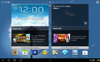 Samsung N8020 Galaxy Note 10-1 LTE - Internet - Populaire sites - Stap 16