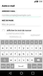 LG X Screen - E-mail - Configuration manuelle - Étape 6