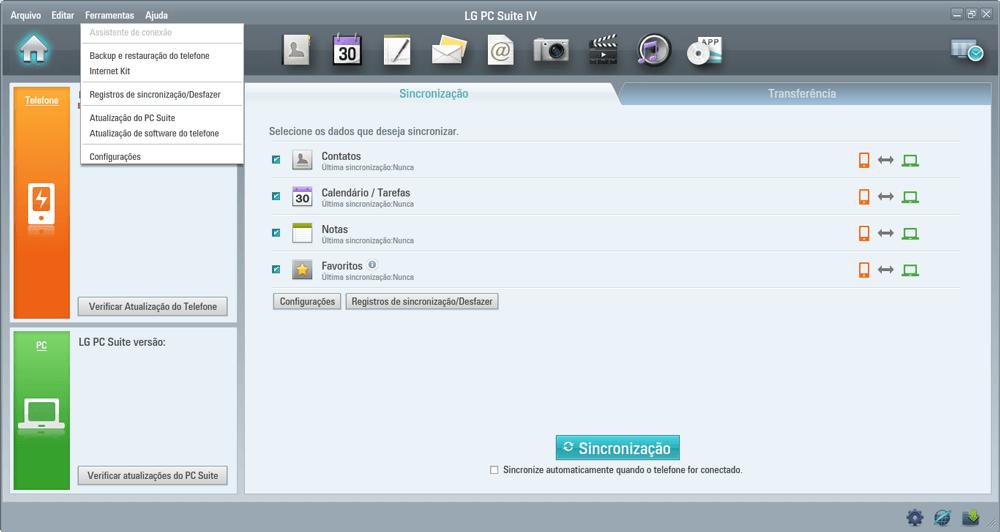 LG D390n F60 - Funções básicas - Como atualizar o software do seu aparelho - Etapa 5