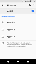 Sony Xperia X Compact - Android Oreo - Bluetooth - connexion Bluetooth - Étape 9