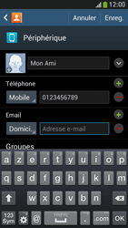 Samsung Galaxy S4 Mini - Contact, Appels, SMS/MMS - Ajouter un contact - Étape 13
