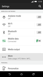 HTC One M8s - Internet - Manual configuration - Step 4
