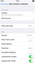 Apple iPhone 6 iOS 9 - E-mail - Manual configuration (outlook) - Step 9