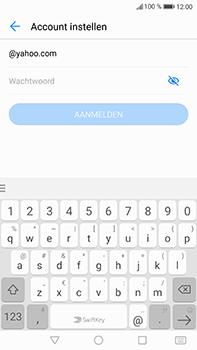 Huawei P10 Plus - E-mail - handmatig instellen (yahoo) - Stap 5
