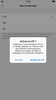 Apple iPhone 6 Plus - iOS 11 - Internet et connexion - Activer la 4G - Étape 7