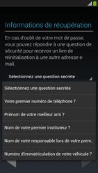 Samsung Galaxy S4 - Premiers pas - Créer un compte - Étape 18