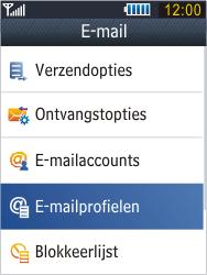 Samsung B3410 Star Qwerty - E-mail - Handmatig instellen - Stap 8
