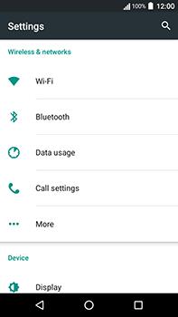 Acer Liquid Zest 4G Plus - Internet - Disable mobile data - Step 4