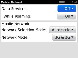 BlackBerry 9780 Bold - Internet - Enable or disable - Step 5