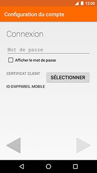 Motorola Moto E4 Plus - E-mails - Ajouter ou modifier votre compte Outlook - Étape 7