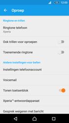 Sony Xperia M5 (E5603) - Voicemail - Handmatig instellen - Stap 6