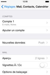 Apple iPhone 4s iOS 8 - E-mail - Configuration manuelle - Étape 17