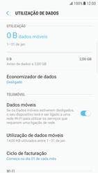 Samsung Galaxy S6 Edge - Android Nougat - Internet no telemóvel - Como ativar os dados móveis -  7