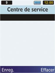 Samsung C3350 Xcover 2 - SMS - configuration manuelle - Étape 7