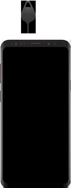 Samsung Galaxy S9 Plus - Premiers pas - Insérer la carte SIM - Étape 2