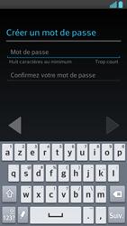 LG Optimus F5 - Premiers pas - Créer un compte - Étape 11