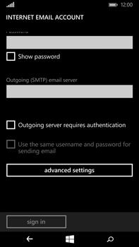 Microsoft Lumia 640 XL - Email - Manual configuration IMAP without SMTP verification - Step 16