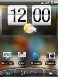 HTC A3288 Tattoo - MMS - Informatie - Stap 1