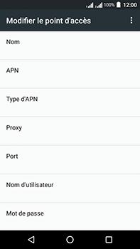Acer Liquid Zest 4G Plus - Internet - configuration manuelle - Étape 13