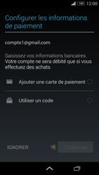 Sony Xperia Z3 Compact - Premiers pas - Créer un compte - Étape 26