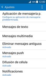 Samsung Galaxy Core Prime - Mensajería - Configurar el equipo para mensajes de texto - Paso 6