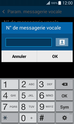 Samsung G355 Galaxy Core 2 - Messagerie vocale - configuration manuelle - Étape 8
