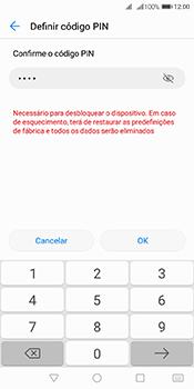 Huawei Y6 (2018) - Segurança - Como ativar o código de bloqueio do ecrã -  10