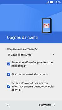 Asus Zenfone Go - Email - Como configurar seu celular para receber e enviar e-mails - Etapa 13