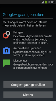 Samsung N9005 Galaxy Note III LTE - Applicaties - Account aanmaken - Stap 13