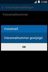 Samsung Galaxy Young2 (SM-G130HN) - Voicemail - Handmatig instellen - Stap 8