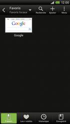 HTC S720e One X - Internet - navigation sur Internet - Étape 8