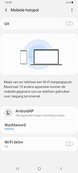 Samsung galaxy-a80-dual-sim-sm-a805fz - WiFi - Mobiele hotspot instellen - Stap 7