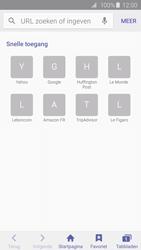 Samsung Galaxy S6 Edge - Internet - Hoe te internetten - Stap 3