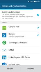 HTC Desire 626 - Premiers pas - Créer un compte - Étape 34