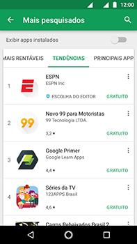 Motorola Moto Z2 Play - Aplicativos - Como baixar aplicativos - Etapa 8