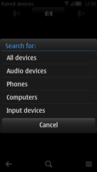 Nokia 700 - Bluetooth - Pair with another device - Step 8