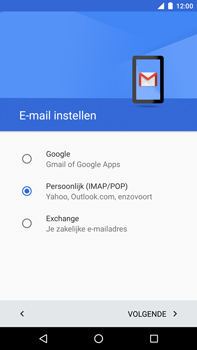 Huawei Google Nexus 6P - E-mail - Account instellen (POP3 met SMTP-verificatie) - Stap 8