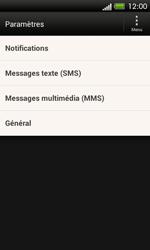 HTC C525u One SV - SMS - configuration manuelle - Étape 6