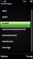 Sony Ericsson U1i Satio - E-mail - Handmatig instellen - Stap 6